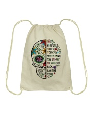 skull Drawstring Bag thumbnail