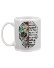 skull Mug back