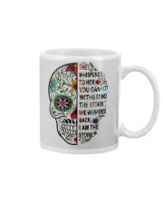 skull Mug front