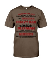 SPOILED DAUGHTER OF A CRAZY DAD Classic T-Shirt thumbnail