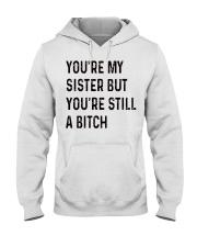 VERSION NEW - SMART SISTER Hooded Sweatshirt front