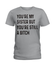 VERSION NEW - SMART SISTER Ladies T-Shirt thumbnail