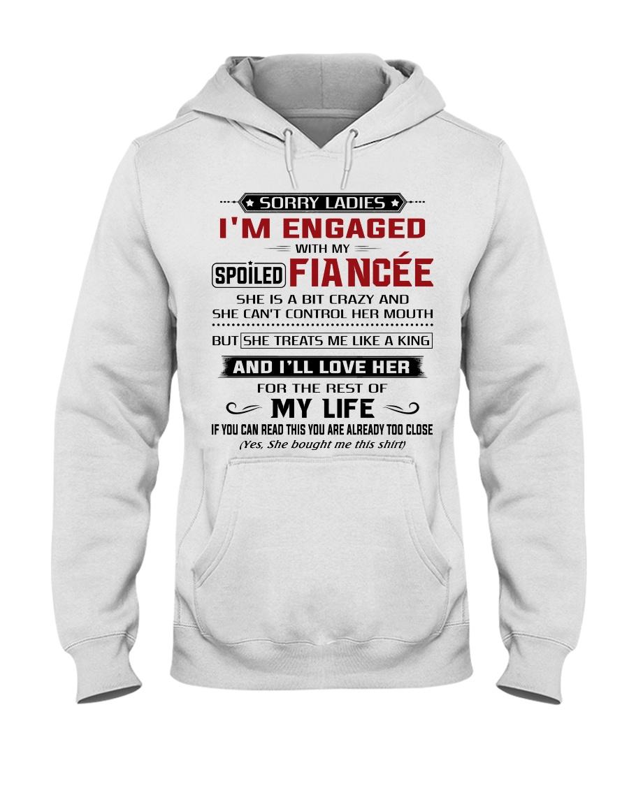 SPOILED FIANCEE Hooded Sweatshirt