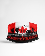 Remembrance Day - Freedom Cloth face mask aos-face-mask-lifestyle-22