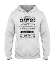 DAD -  CUSS A LOT  Hooded Sweatshirt front