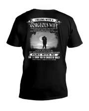 BELONG WITH A GORGEOUS WIFE - FULY V-Neck T-Shirt thumbnail