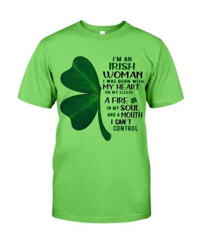 IRISH WOMAN - SHAMROCK