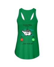 CRUISE - white Ladies Flowy Tank thumbnail