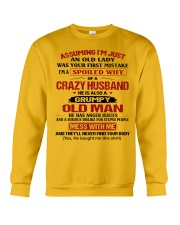 AN OLD LADY Crewneck Sweatshirt thumbnail