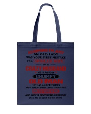 AN OLD LADY Tote Bag thumbnail