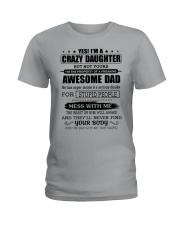 AWESOME DAD Ladies T-Shirt thumbnail