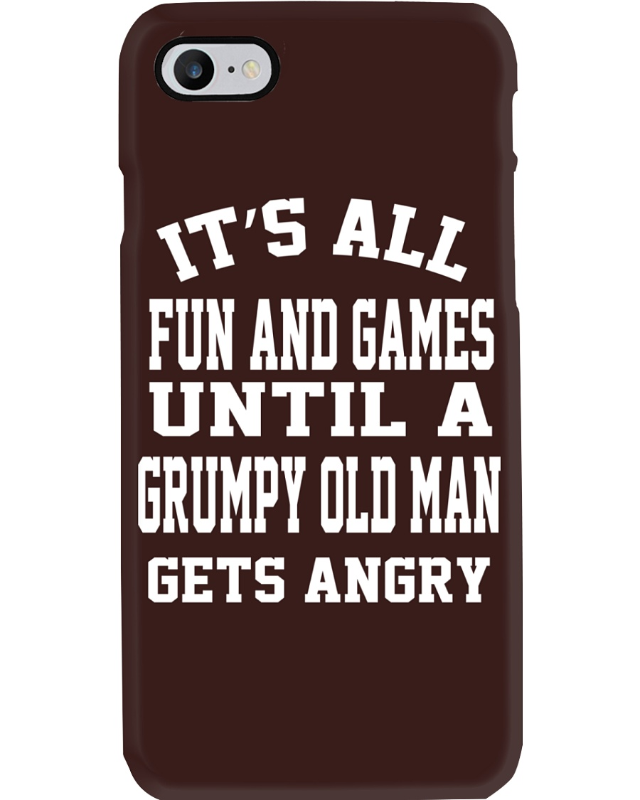 GRUMPY OLD MAN Phone Case
