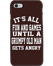 GRUMPY OLD MAN Phone Case i-phone-7-case