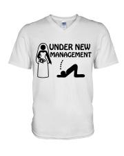 NEW MANAGEMENT - DTS V-Neck T-Shirt thumbnail