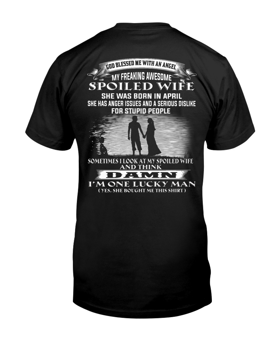 Husband and Wife-april Classic T-Shirt