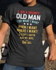 GRUMPY OLD MAN Classic T-Shirt apparel-classic-tshirt-lifestyle-28