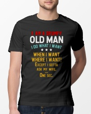 GRUMPY OLD MAN Classic T-Shirt lifestyle-mens-crewneck-front-13