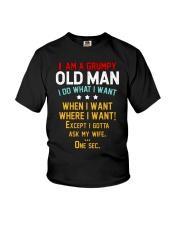 GRUMPY OLD MAN Youth T-Shirt thumbnail