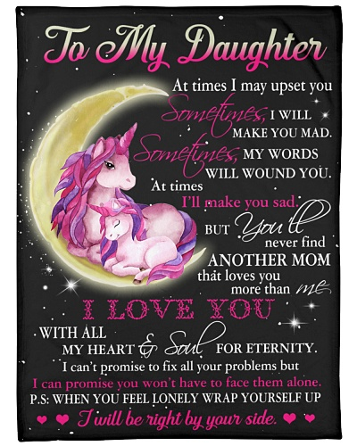 Blanket - To my Daughter - hadn