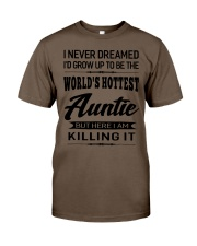 HOTTEST AUNTIE Classic T-Shirt thumbnail