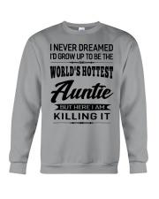 HOTTEST AUNTIE Crewneck Sweatshirt thumbnail