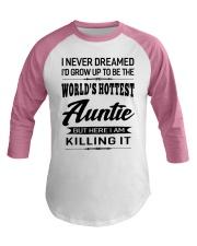 HOTTEST AUNTIE Baseball Tee thumbnail