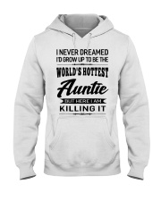 HOTTEST AUNTIE Hooded Sweatshirt front