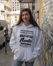 HOTTEST AUNTIE Hooded Sweatshirt lifestyle-unisex-hoodie-front-1