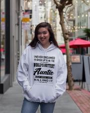 HOTTEST AUNTIE Hooded Sweatshirt lifestyle-unisex-hoodie-front-2