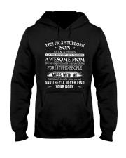 I'M A STUBBORN SON Hooded Sweatshirt thumbnail
