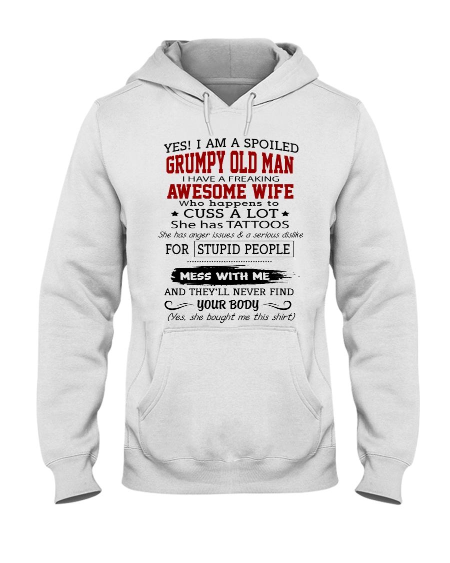 OLDMAN-WIFE Hooded Sweatshirt