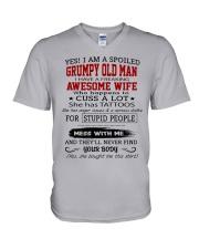 OLDMAN-WIFE V-Neck T-Shirt thumbnail