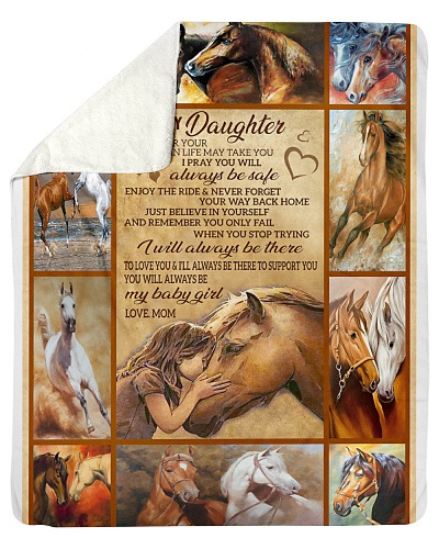 Blanket-Horse- To my Daughter