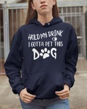 HOLD MY DRINK  Hooded Sweatshirt apparel-hooded-sweatshirt-lifestyle-07