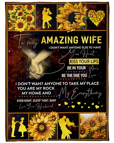 BOOM - TO MY AMAZING WIFE