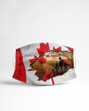 HTV - LEST WE FORGET - LIMITED EDITION Cloth face mask aos-face-mask-lifestyle-22