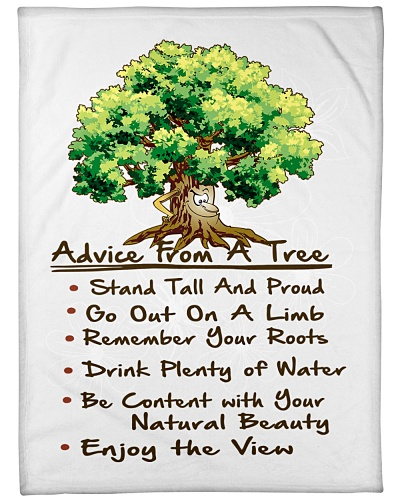 BLANKET-ADVICE FROM A TREE