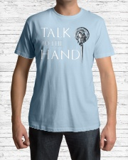 TALK TO THE HAND Classic T-Shirt lifestyle-mens-crewneck-front-1
