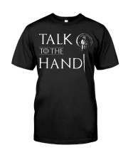 TALK TO THE HAND Premium Fit Mens Tee thumbnail