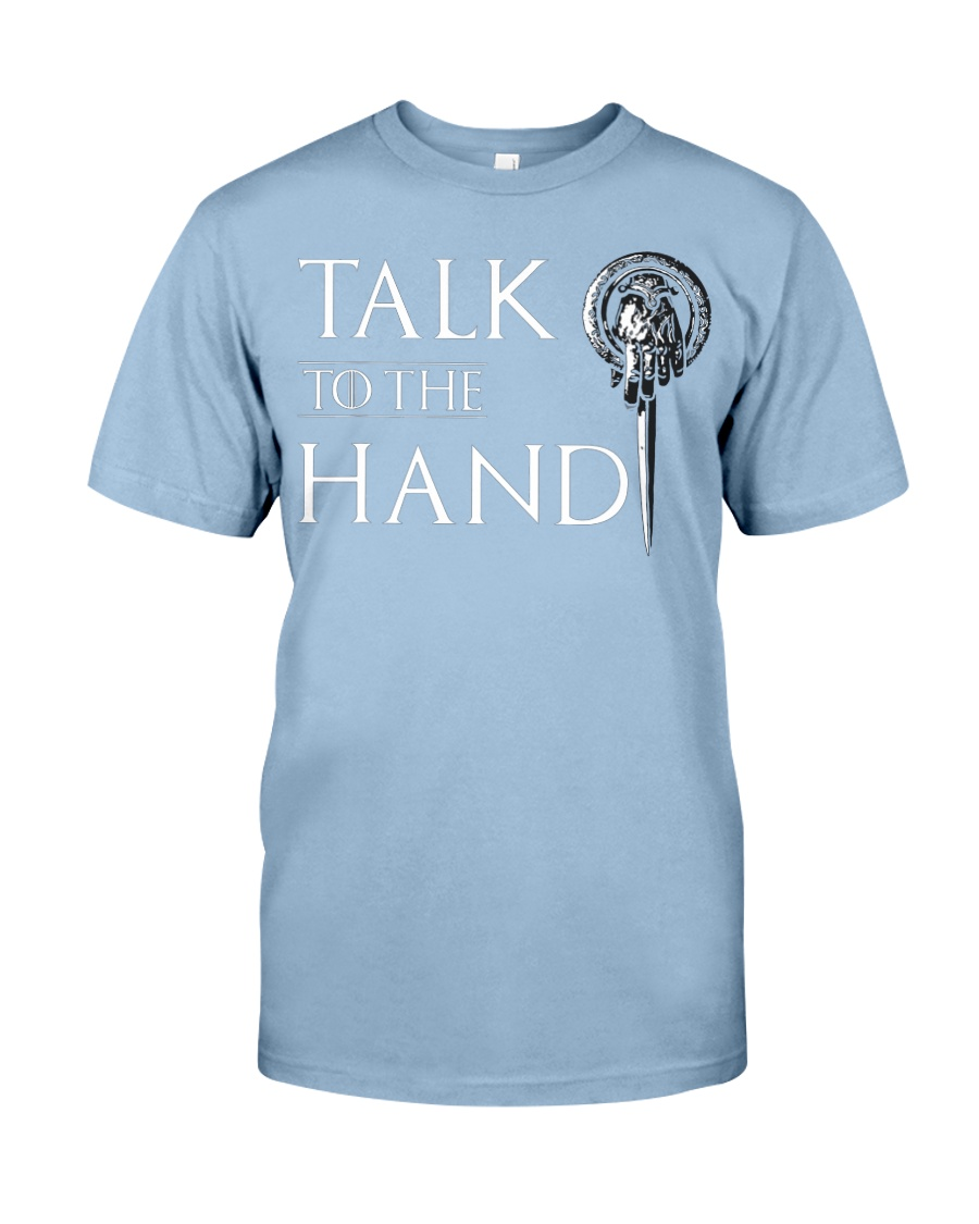 TALK TO THE HAND Premium Fit Mens Tee