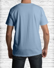 TALK TO THE HAND Premium Fit Mens Tee lifestyle-mens-crewneck-back-1