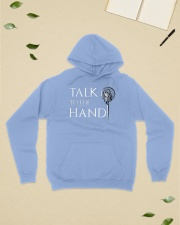 TALK TO THE HAND Hooded Sweatshirt lifestyle-unisex-hoodie-front-6