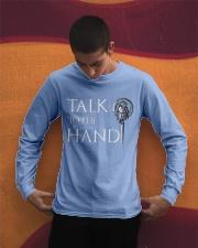 TALK TO THE HAND Long Sleeve Tee apparel-long-sleeve-tee-lifestyle-01