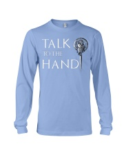 TALK TO THE HAND Long Sleeve Tee front