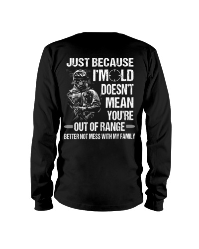 LIMITED EDITION - YOU'RE NOT OUT OF RANGE
