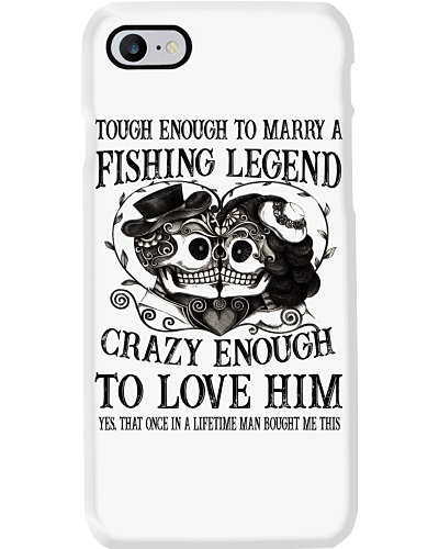 CRAZY ENOUGH TO LOVE A FISHING LEGEND - LIMITED