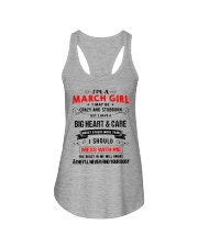MARCH GIRL Ladies Flowy Tank thumbnail