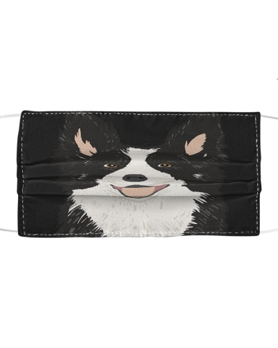Fabric Mask Collie