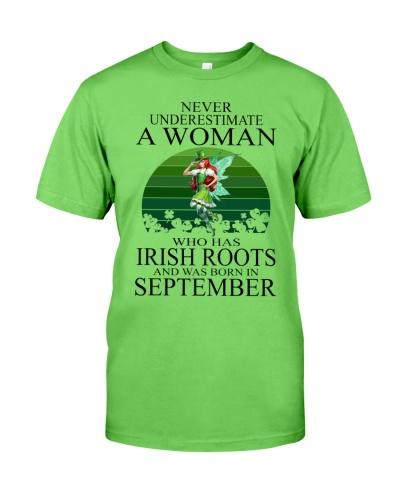 WOMAN IRISH WAS BORN IN SEPTEMBER