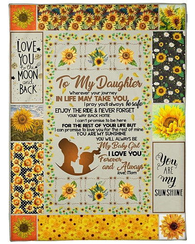 BLANKET - TO MY DAUGHTER 5 - HTL